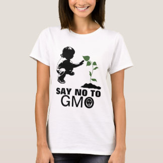 Say No To GMO Young Child and Seedling T-Shirt