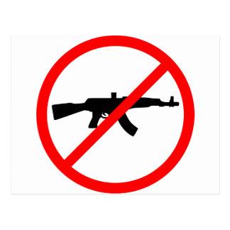 Say No To Guns Post Card