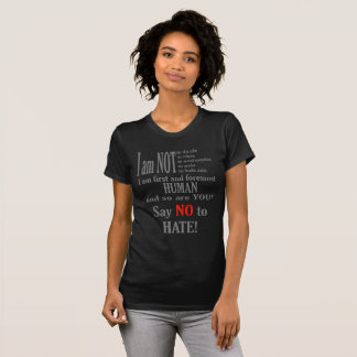 Say no to hate T-Shirt
