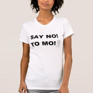 Say No To Mo! Pink T-Shirt