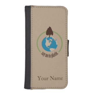 Say No to Plastic iPhone SE/5/5s Wallet Case