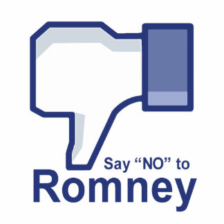Say No to Romney Cut Outs
