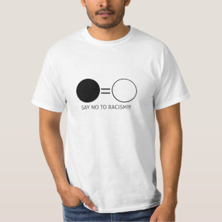 Say not to racism! T-Shirt