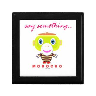Say Something-Cute Monkey-Morocko Gift Box