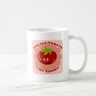 Say Tomato! Classic White Coffee Mug