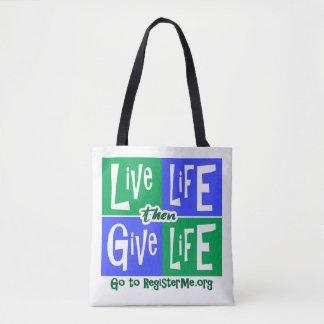 Say YES to Organ Donation Tote Bag
