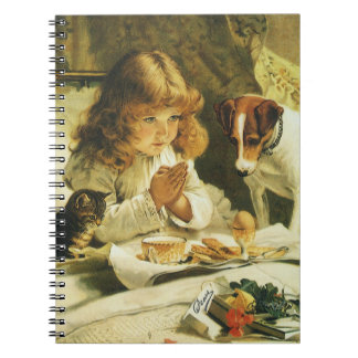 Saying Our Prayers, Suspense Charles Burton Barber Spiral Note Books