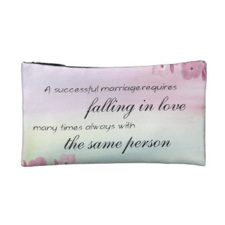 Saying Quote Cosmetic Bag
