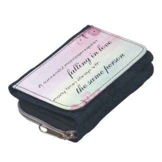 Saying Quote Wallet