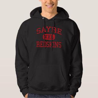 Sayre - Redskins - Area - Sayre Pennsylvania Hoodie