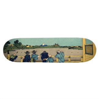 Sazai hall - Temple of Five Hundred Rakan Skateboard Decks