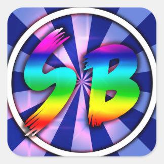 SB Merch Square Sticker