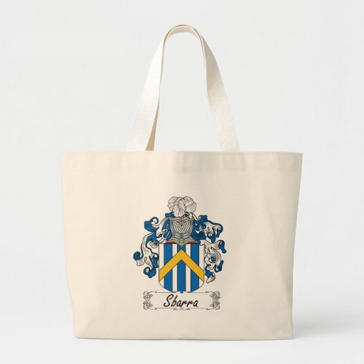 Sbarra Family Crest Canvas Bags