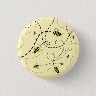 SBM Buzzing Bee Mini Button Pin