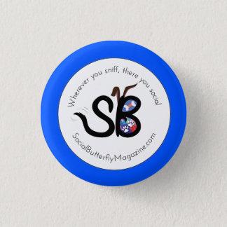 SBM Dads & Grads Social Animal Mini Button Pin