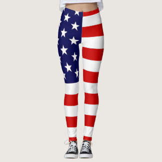 SBM Patriotic Leggings