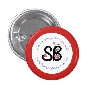 SBM Patriotic Logo Mini Button Pin