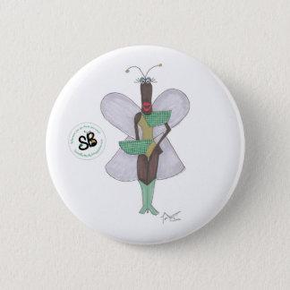 SBM Pseudo Celeb Green Future Fashion Button Pin