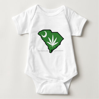 SC Medical Marijuana Movement Baby Bodysuit
