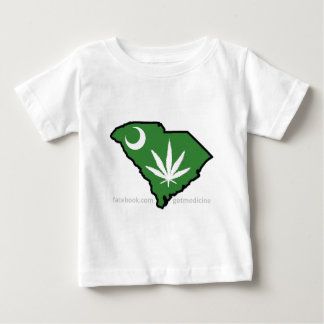 SC Medical Marijuana Movement Baby T-Shirt