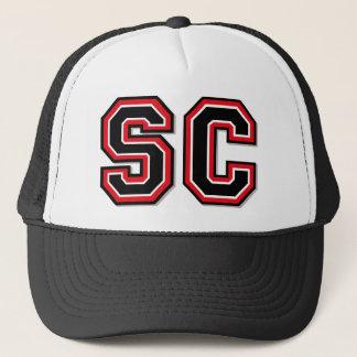 'SC' Monogram Trucker Hat
