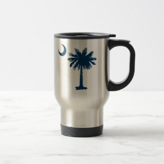 SC Palmetto & Crescent 15 Oz Stainless Steel Travel Mug