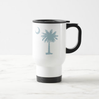 SC Palmetto & Crescent (CB) 15 Oz Stainless Steel Travel Mug
