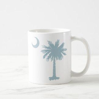 SC Palmetto & Crescent (CB) Classic White Coffee Mug