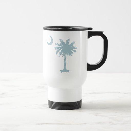 SC Palmetto & Crescent (CB) Coffee Mugs