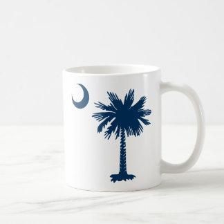 SC Palmetto & Crescent Classic White Coffee Mug