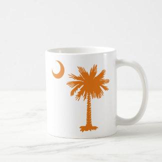 SC Palmetto & Crescent (O) Coffee Mugs