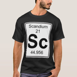 Sc - Scandium T-Shirt