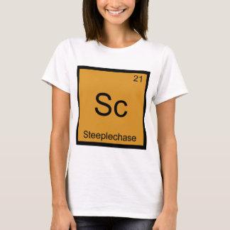 Sc - Steeplechase Funny Chemistry Element Symbol T-Shirt