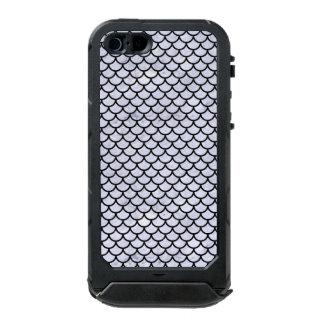 SCA1 BK-WH MARBLE (R) INCIPIO ATLAS ID™ iPhone 5 CASE