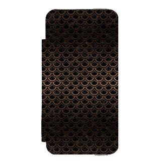 SCA2 BK-MRBL BZ-MTL INCIPIO WATSON™ iPhone 5 WALLET CASE