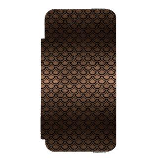 SCA2 BK-MRBL BZ-MTL (R) INCIPIO WATSON™ iPhone 5 WALLET CASE