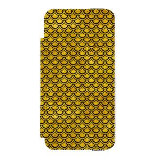SCA2 BK-YL MARBLE (R) INCIPIO WATSON™ iPhone 5 WALLET CASE