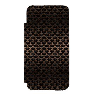 SCA3 BK-MRBL BZ-MTL INCIPIO WATSON™ iPhone 5 WALLET CASE