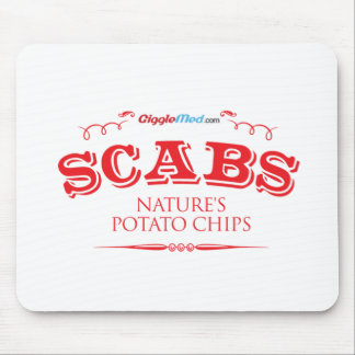 Scabs: Nature's Potato Chips Mouse Pad