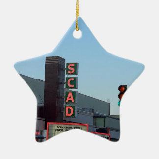 SCAD CERAMIC STAR ORNAMENT