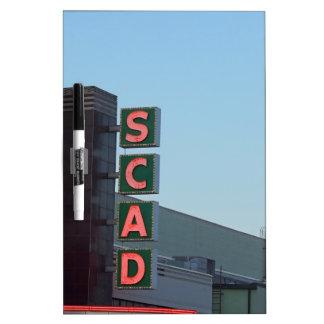 SCAD Dry-Erase BOARDS