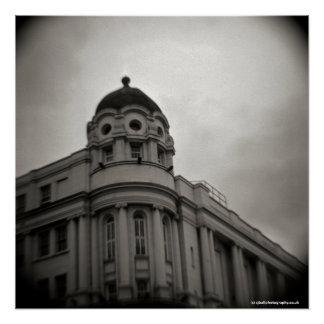 Scala, Kings Cross, London. Poster Toy Camera
