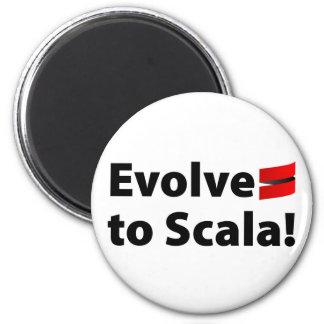 Scala Magnet, Evolve Logo Magnet