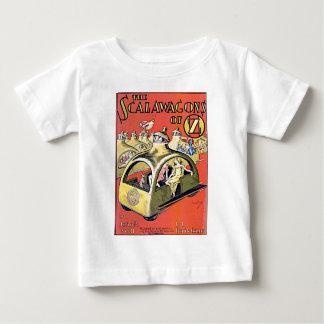 Scalawagons d'once t-shirt pour bébé