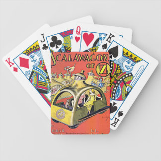 Scalawagons Of Oz Bicycle Playing Cards