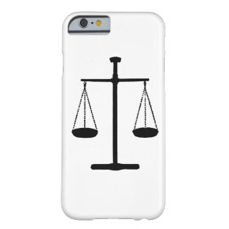 scale of justice barely there iPhone 6 case