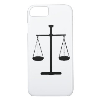 scale of justice iPhone 7 case