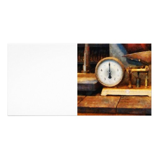 Scale Photo Card Template