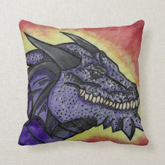 Scaled Dragon Throw Pillow