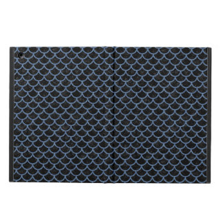 SCALES1 BLACK MARBLE & BLUE DENIM CASE FOR iPad AIR